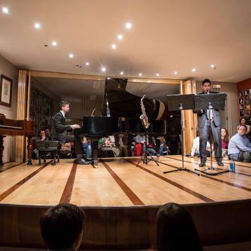Dúo Prieto-Urdániz - Salón de actos Eutherpe, León